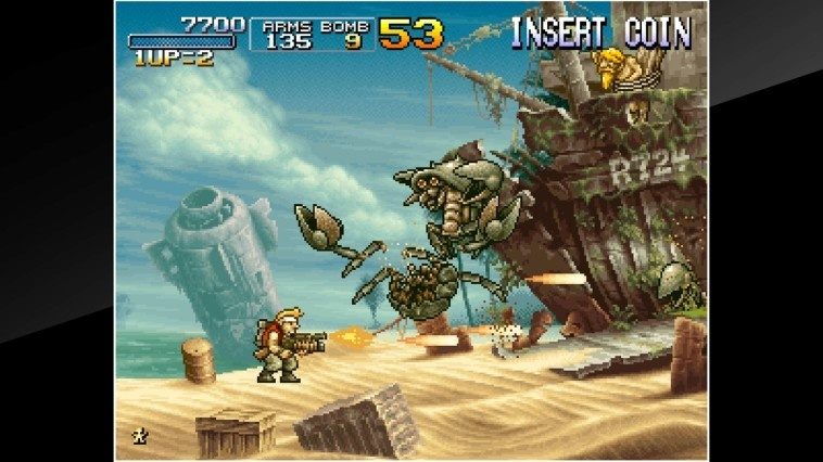 Screenshot for ACA NeoGeo: Metal Slug 3 on Nintendo Switch