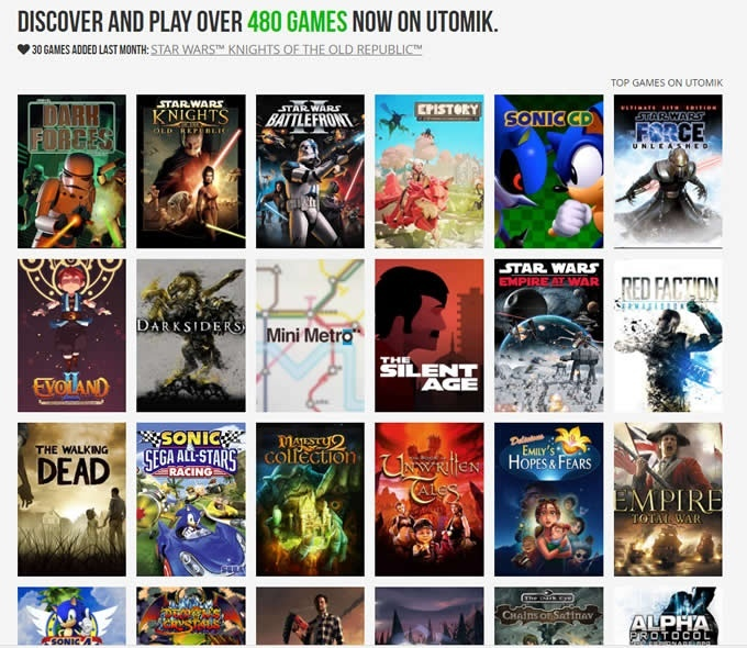 Image for INSiGHT: Online Game Streaming Service Utomik