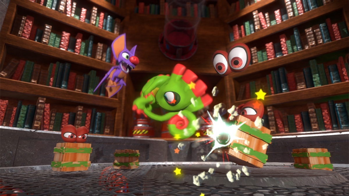 Yooka-Laylee (PlayStation 4) Review - Page 1 - Cubed3