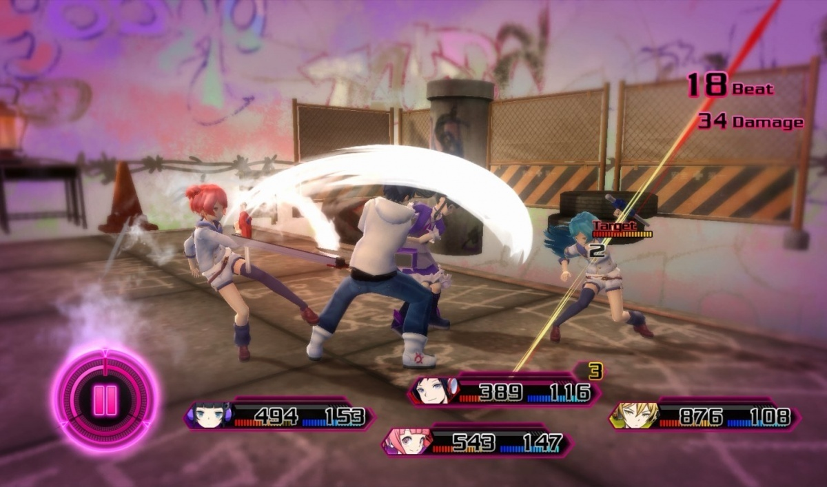 Screenshot for Akiba's Beat on PlayStation 4