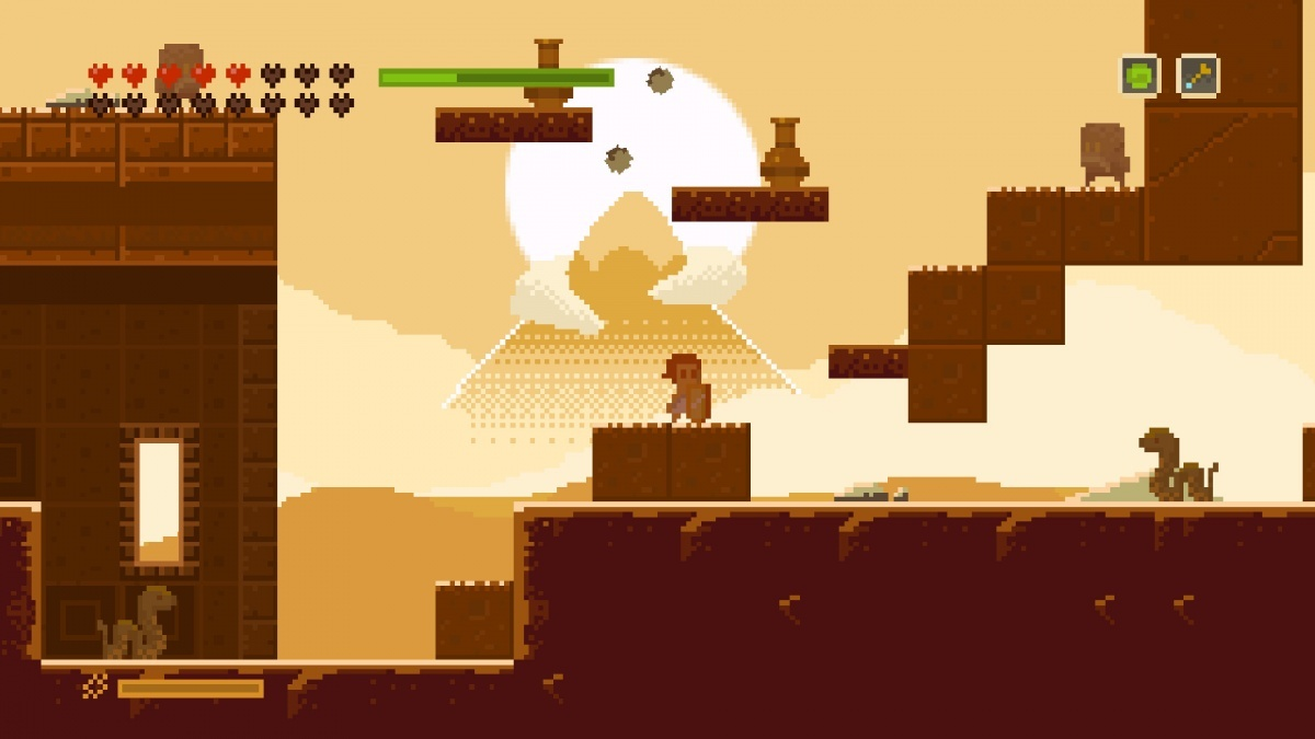 Screenshot for Elliot Quest on PC