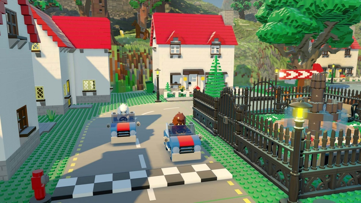 Screenshot for LEGO Worlds on Nintendo Switch