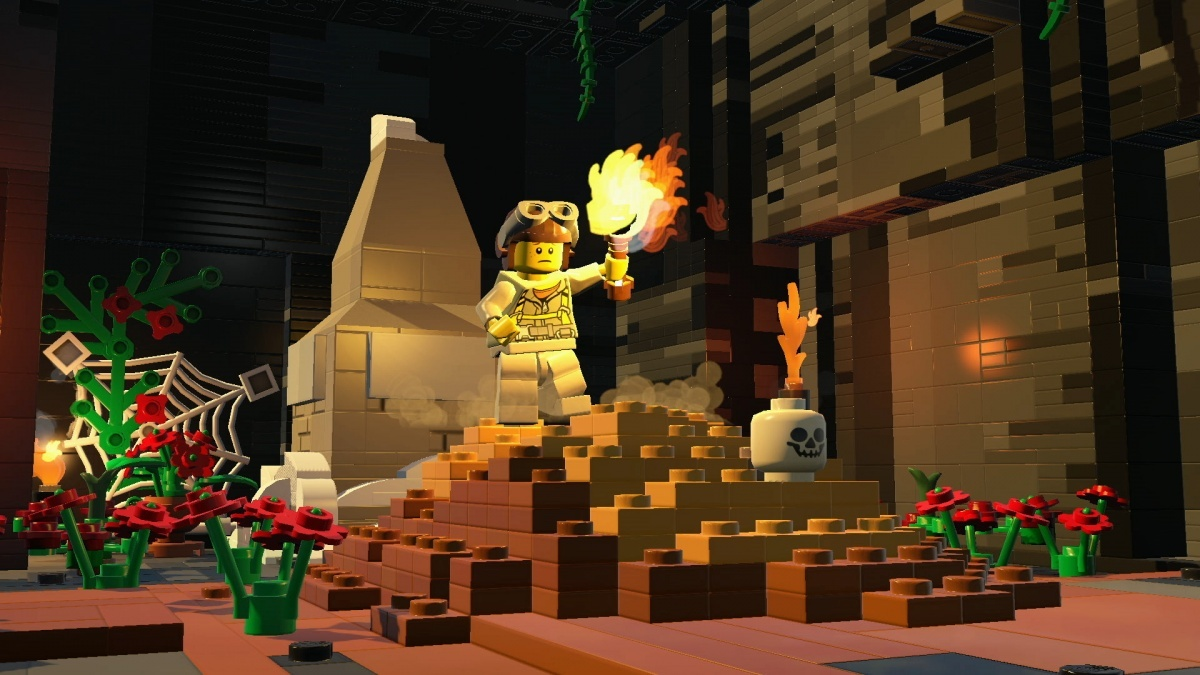 Screenshot for LEGO Worlds on PlayStation 4