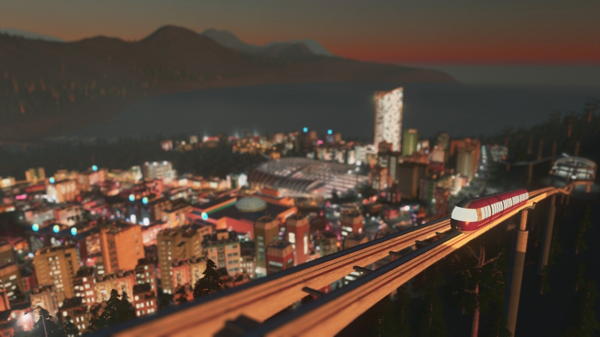 Screenshot for Cities: Skylines - Mass Transit on PC