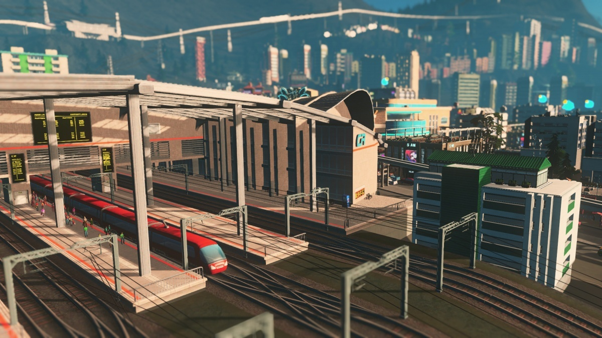 Screenshot for Cities: Skylines - Mass Transit on PlayStation 4