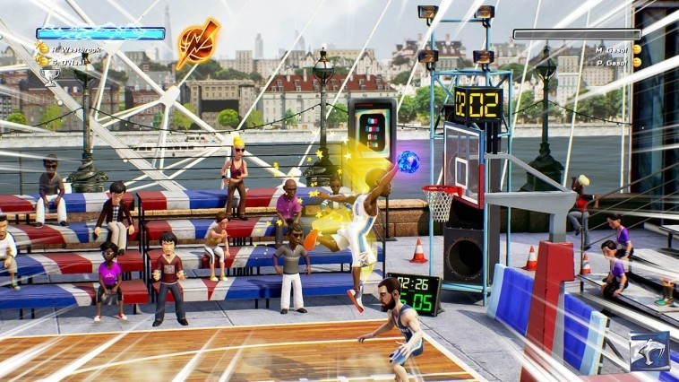Screenshot for NBA Playgrounds on Nintendo Switch
