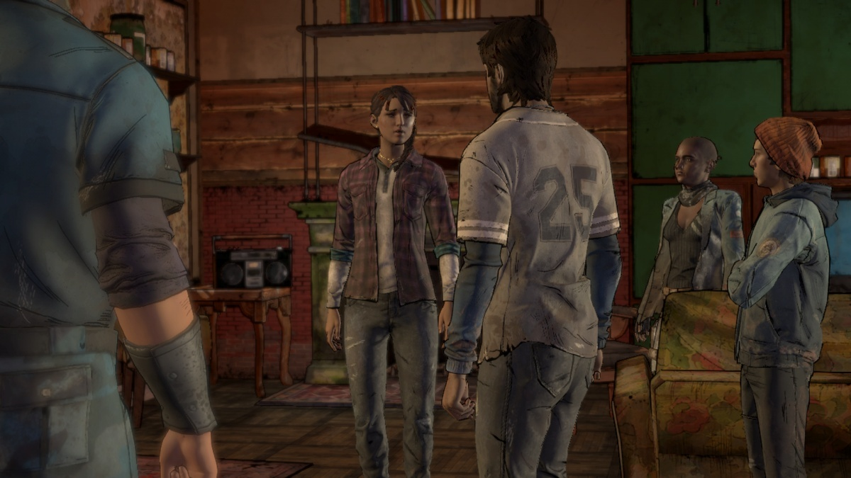 Screenshot for The Walking Dead: A New Frontier - Episode 4: Thicker Than Water on PlayStation 4