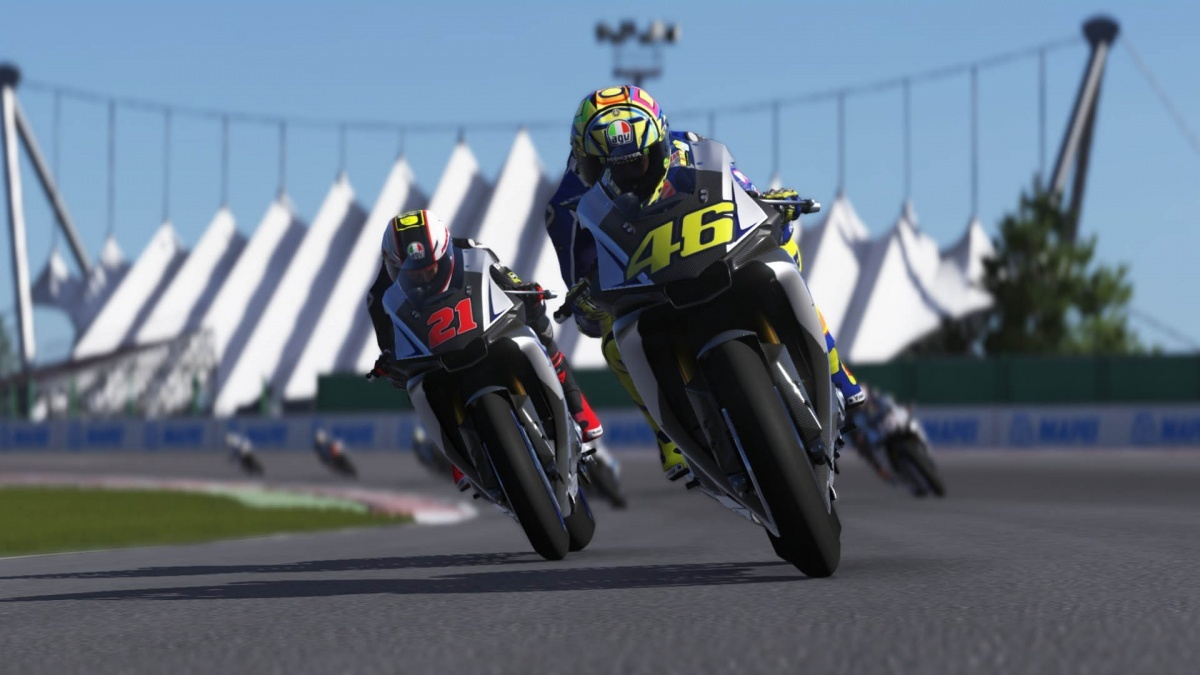 Screenshot for Valentino Rossi: The Game on PlayStation 4