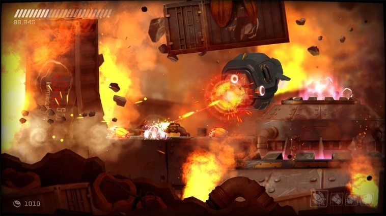Screenshot for RIVE: Ultimate Edition on Nintendo Switch