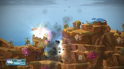 Screenshot for Worms W.M.D - click to enlarge