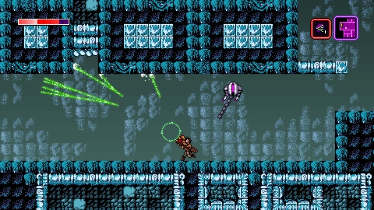 Screenshot for Axiom Verge: Multiverse Edition on Nintendo Switch