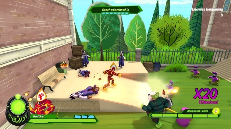 Screenshot for Ben 10 on Nintendo Switch