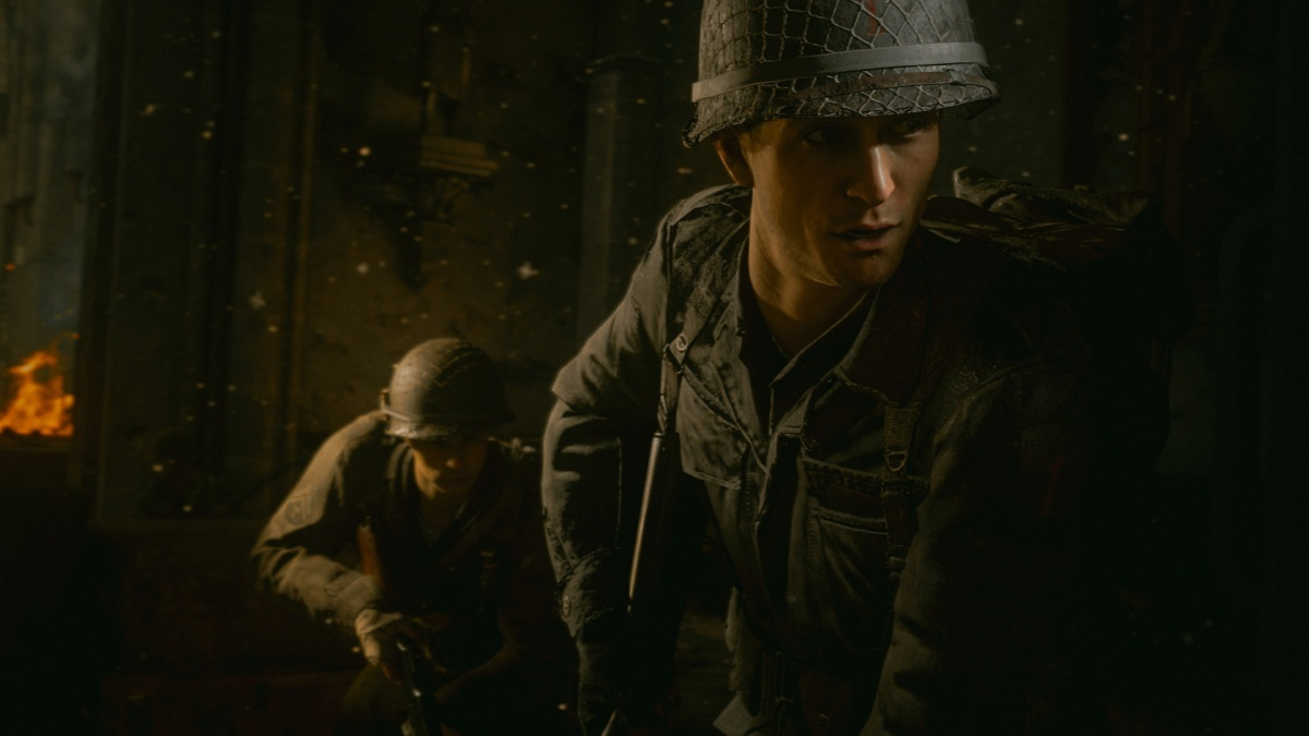 Screenshot for Call of Duty: WWII on PlayStation 4