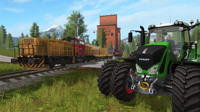 Screenshot for Farming Simulator Nintendo Switch Edition  on Nintendo Switch
