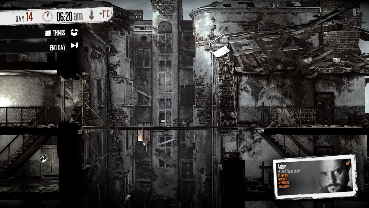Screenshot for This War of Mine: Stories - Father's Promise on PC