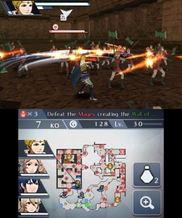Screenshot for Fire Emblem Warriors on Nintendo 3DS