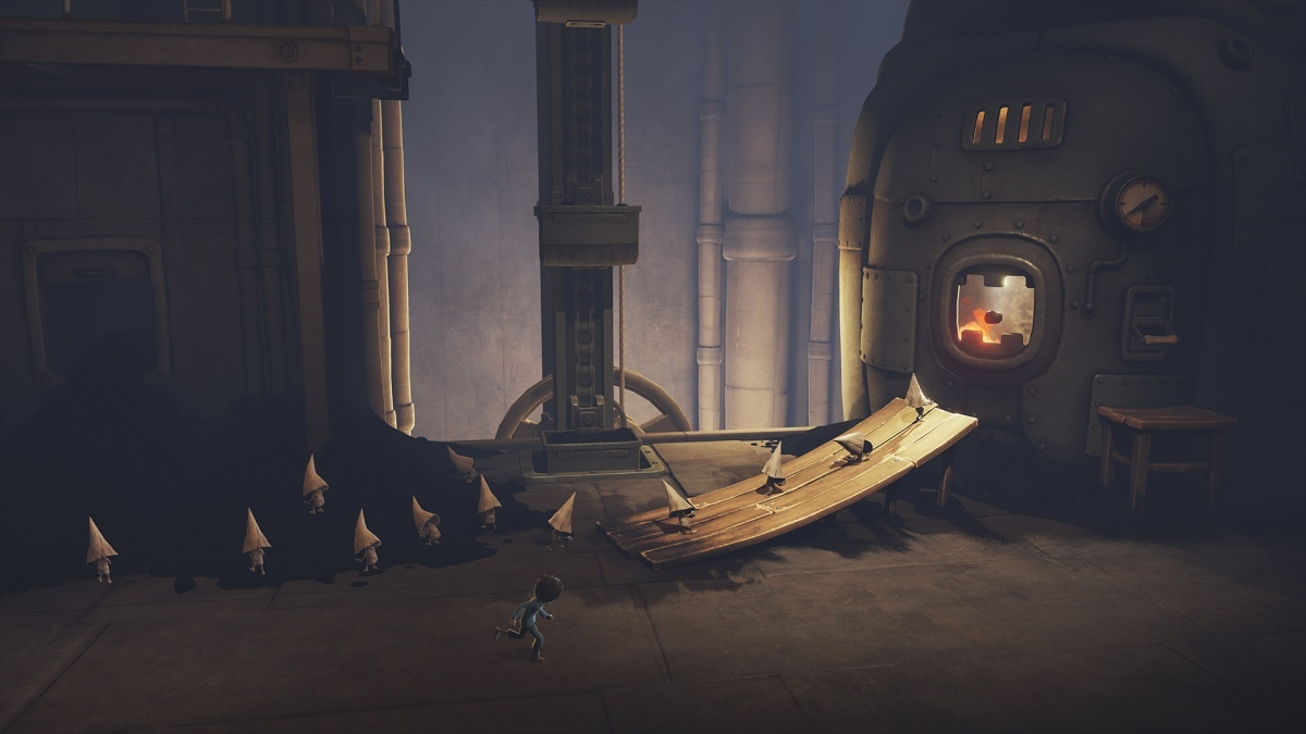 Screenshot for Little Nightmares: The Hideaway on PlayStation 4
