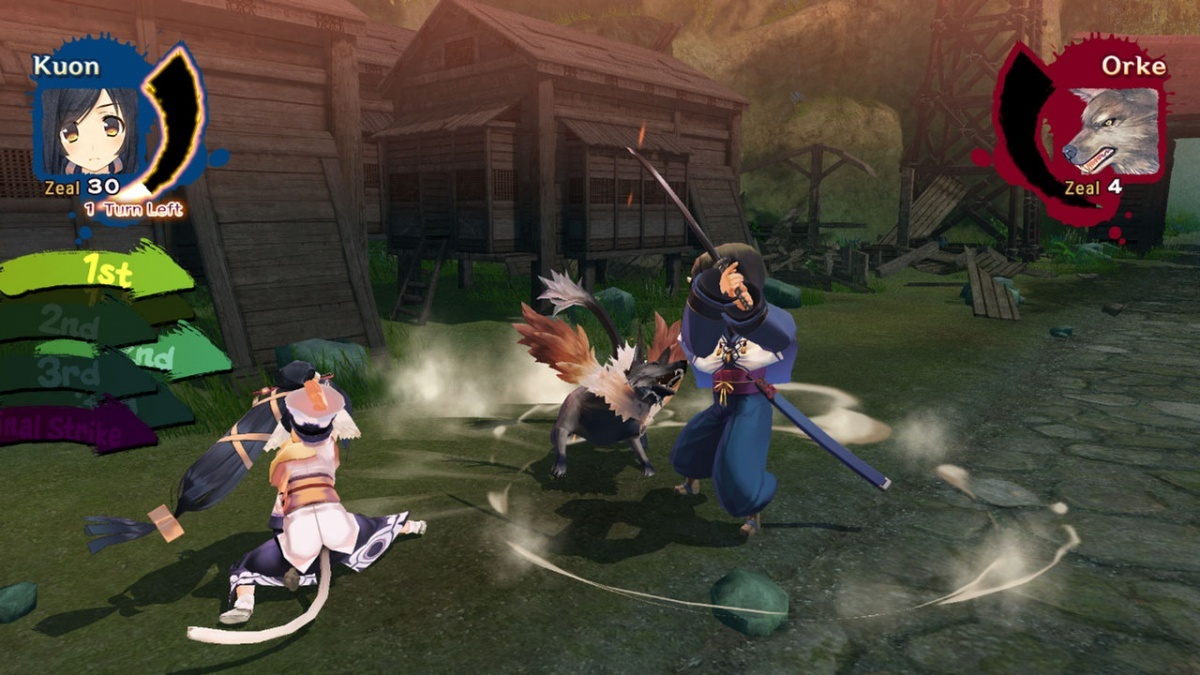 Screenshot for Utawarerumono: Mask of Truth  on PlayStation 4