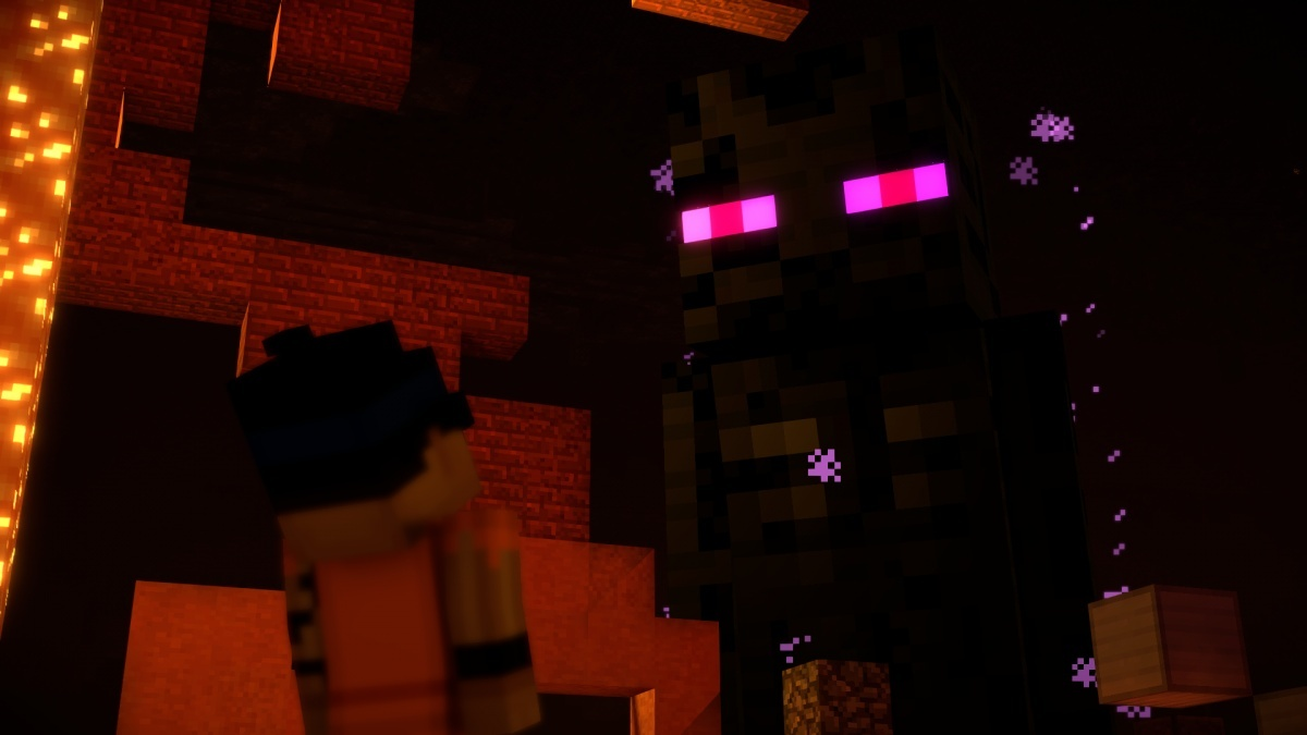 Screenshot for Minecraft: Story Mode Season Two - Episode 4: Below the Bedrock on Xbox One