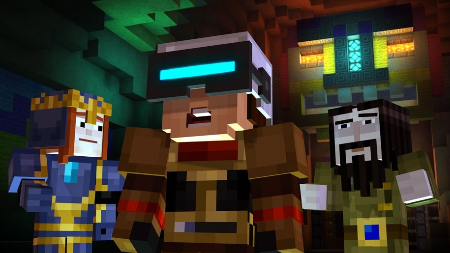 Screenshot for Minecraft: Story Mode - Episode 7: Access Denied on Xbox One