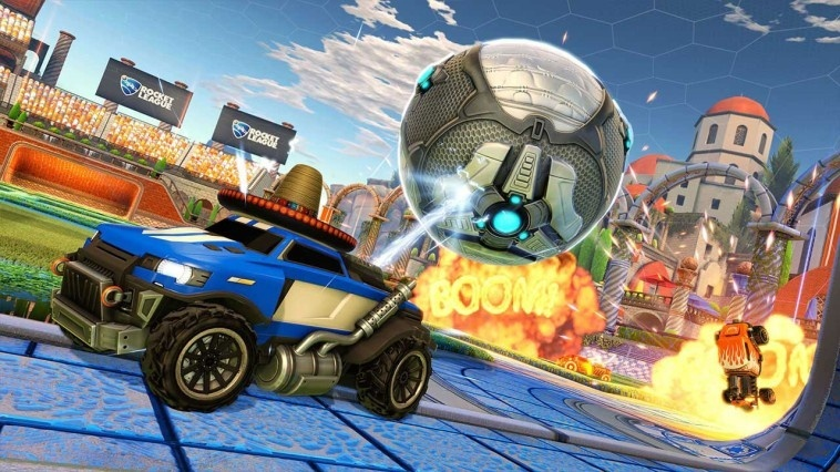 Screenshot for Rocket League on Nintendo Switch