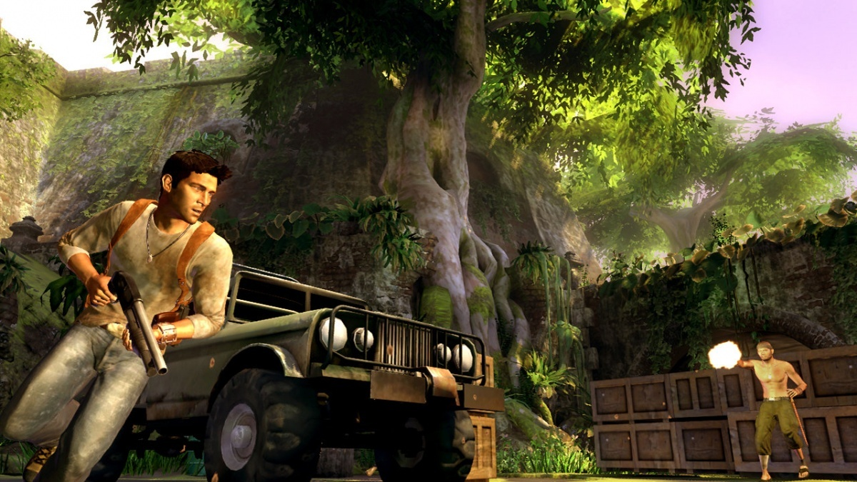 Screenshot for Uncharted: Drake's Fortune on PlayStation 3