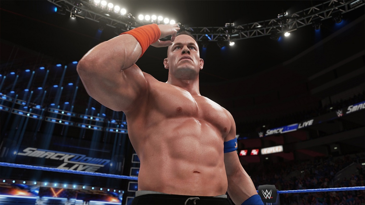 Screenshot for WWE 2K18  on Xbox One