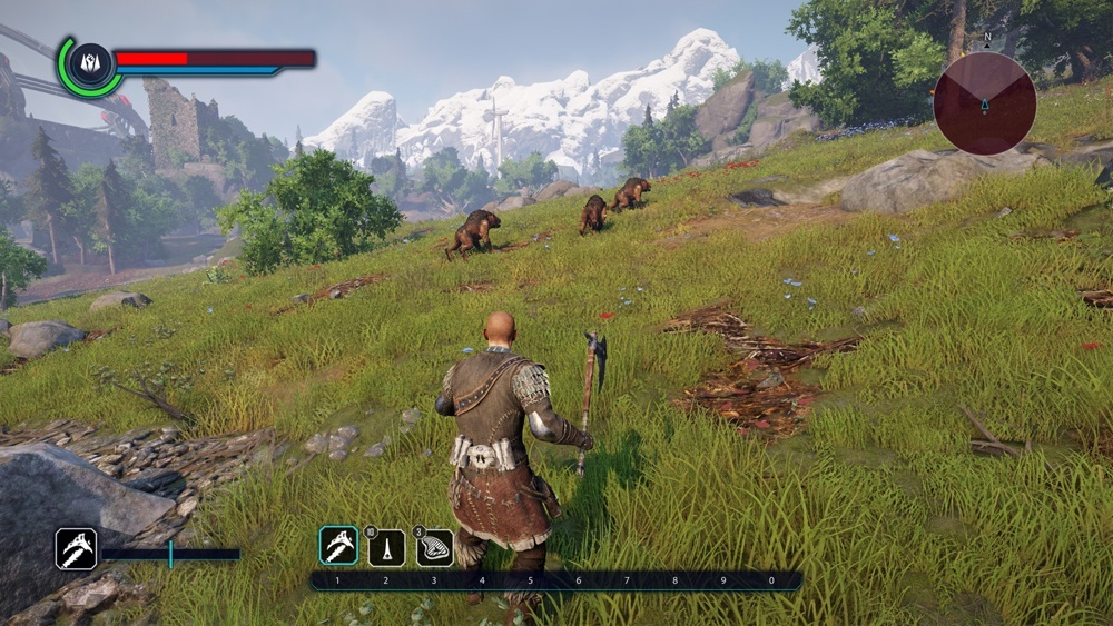 Screenshot for ELEX on PC