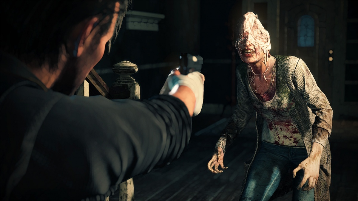Screenshot for The Evil Within 2 on PlayStation 4
