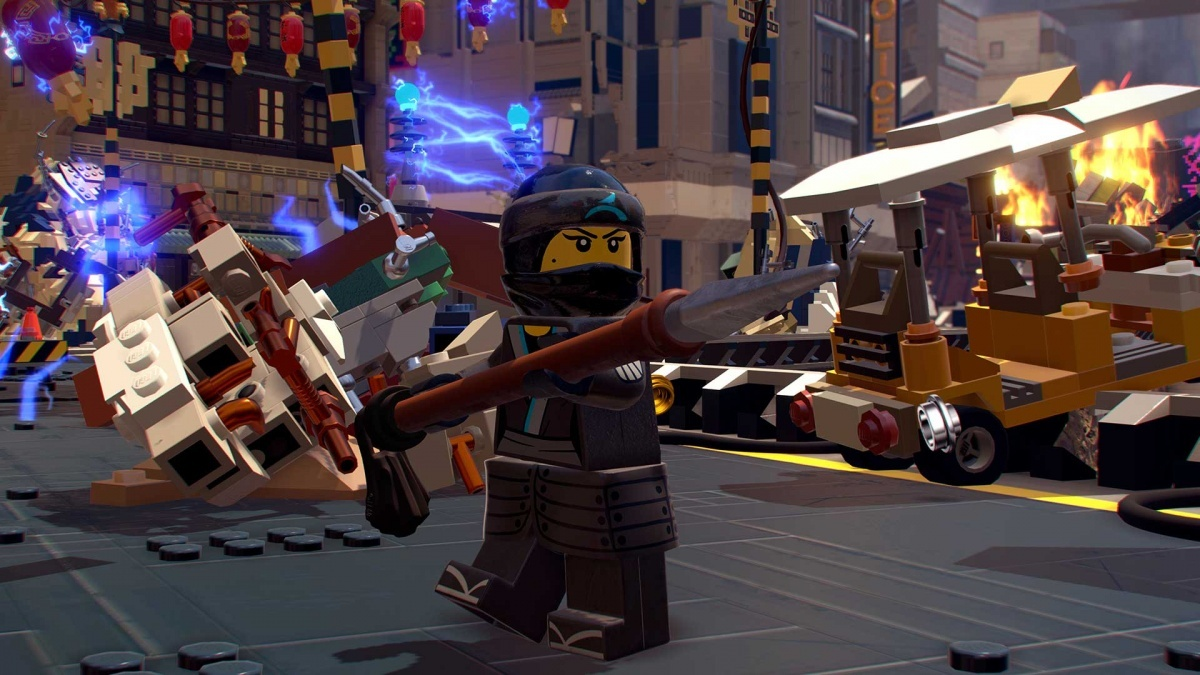 Screenshot for The LEGO Ninjago Movie Video Game on PlayStation 4