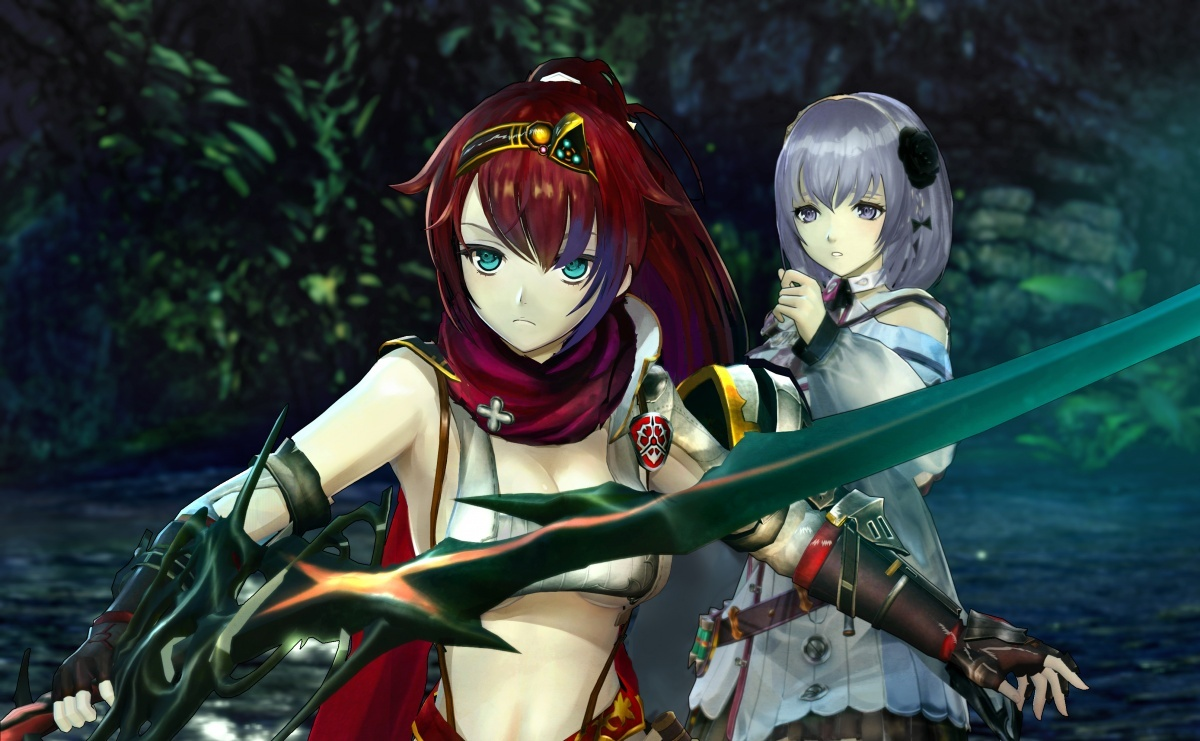 Screenshot for Nights of Azure 2: Bride of the New Moon on Nintendo Switch