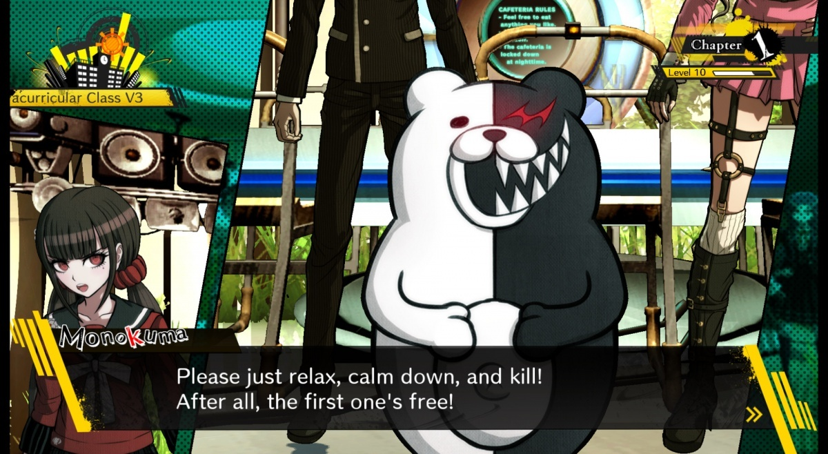Screenshot for Danganronpa V3: Killing Harmony on PS Vita
