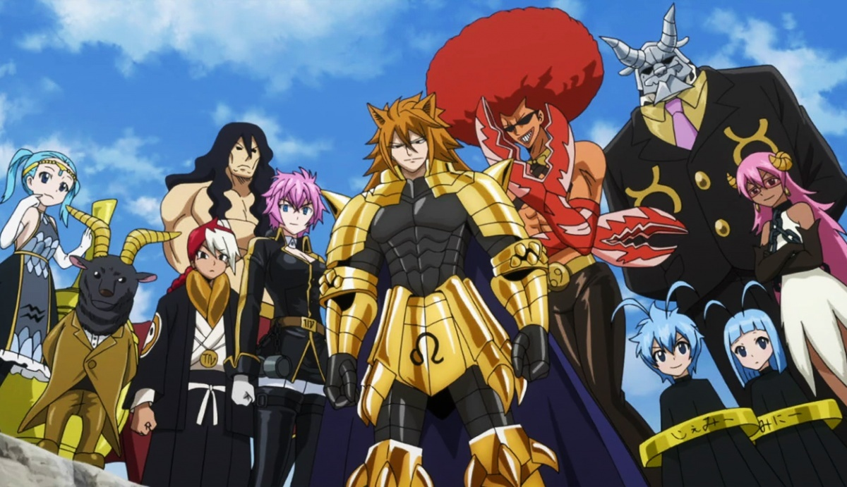 Image for Anime Review: Fairy Tail Part 18 (Lights, Camera, Action!)