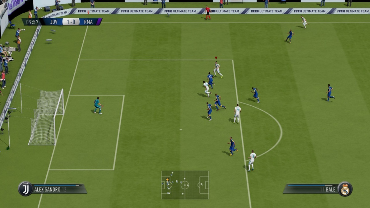 Screenshot for FIFA 18 on Nintendo Switch