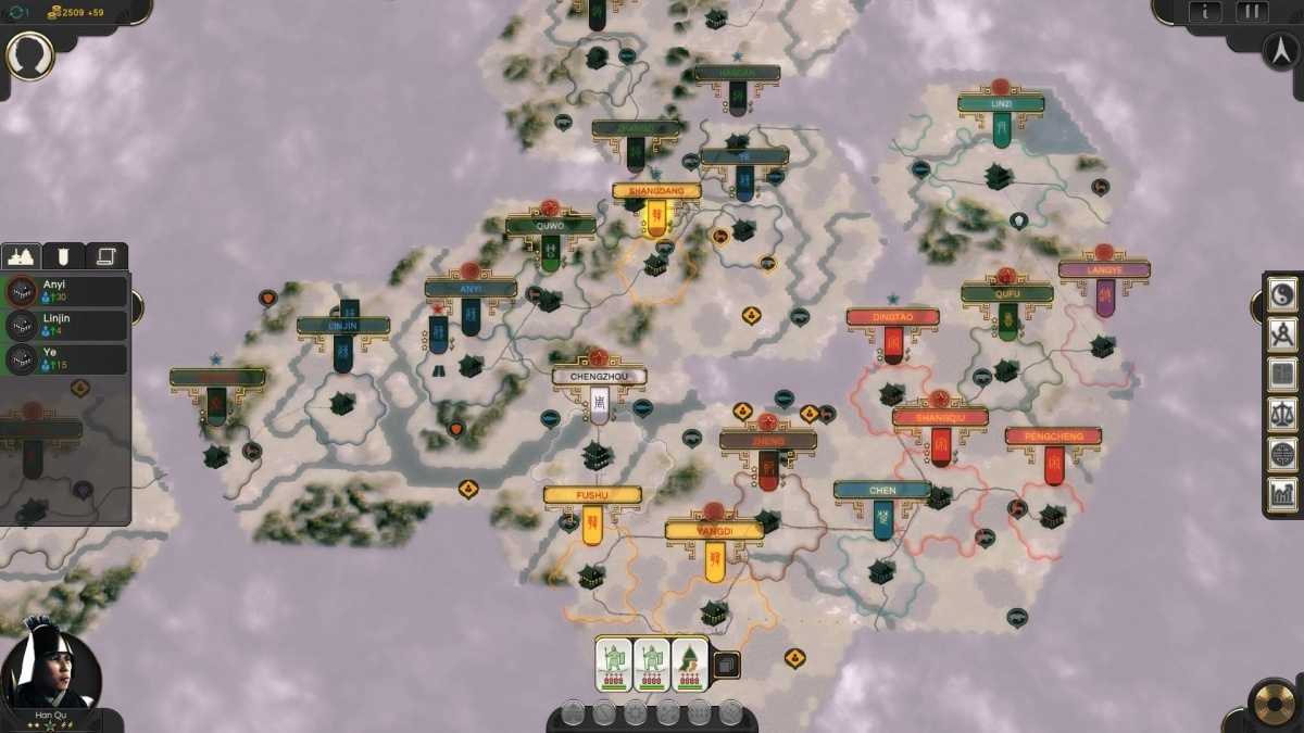 Screenshot for Oriental Empires  on PC