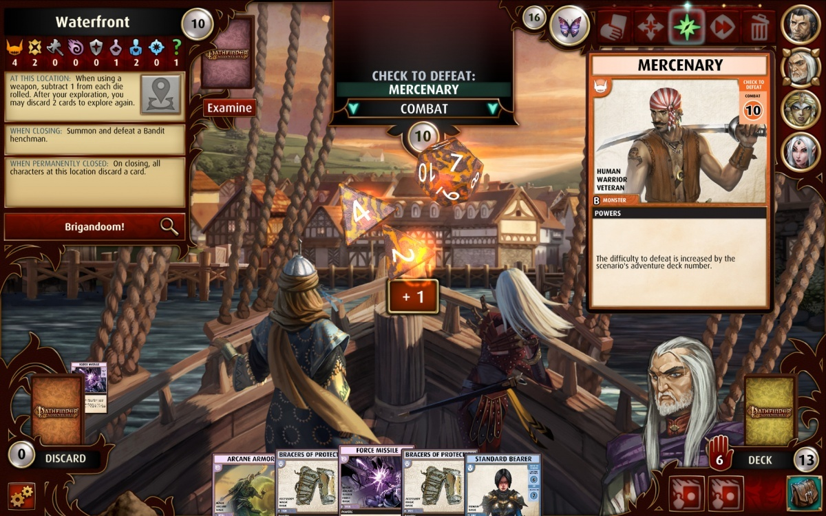 Screenshot for Pathfinder Adventures  on PC