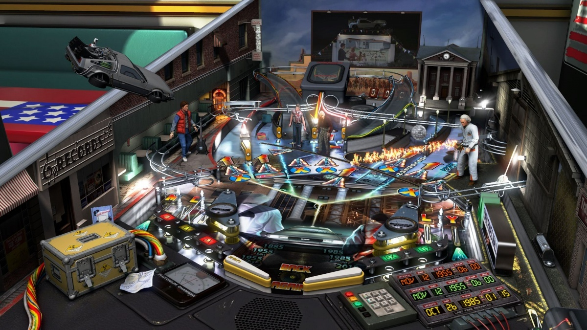 Screenshot for Pinball FX3: Universal Classics Pinball on Nintendo Switch