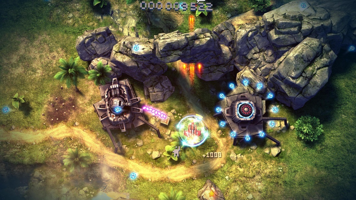 Screenshot for Sky Force Anniversary on PlayStation 4