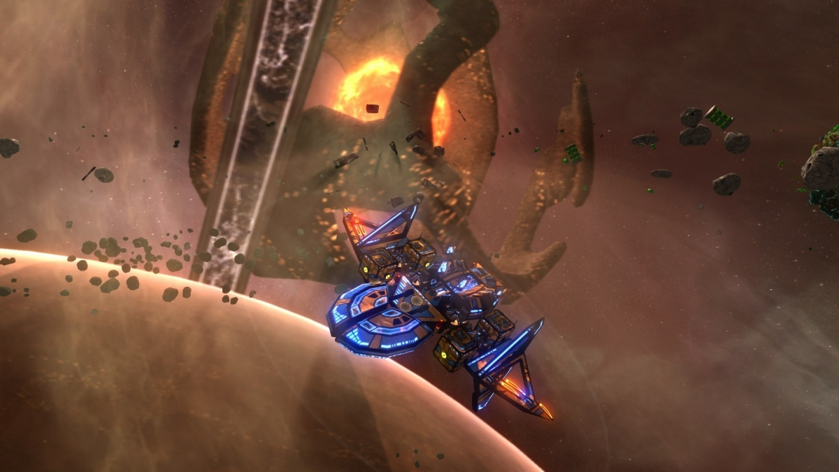 Screenshot for Space Pirates and Zombies 2 on PC