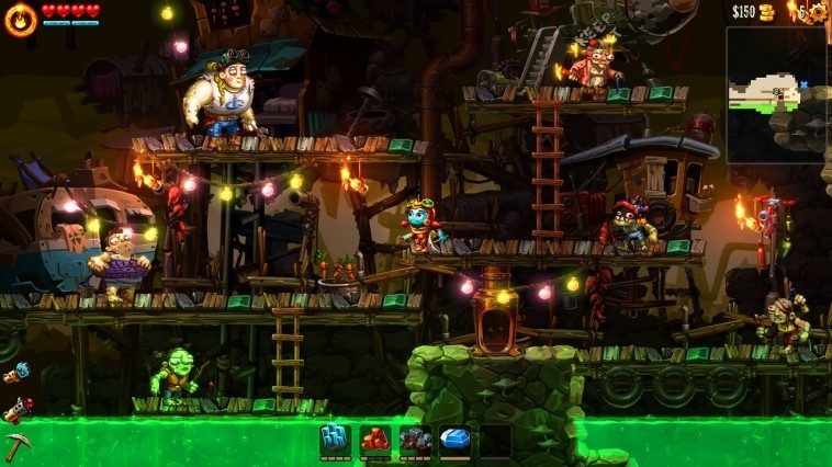 Screenshot for SteamWorld Dig 2 on Nintendo Switch