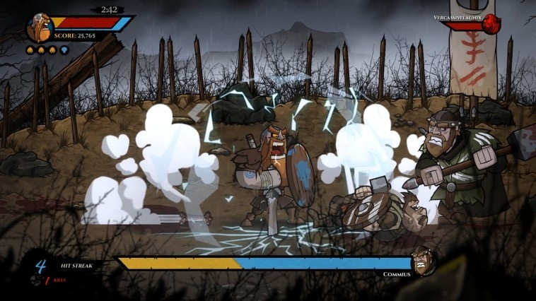Screenshot for Wulverblade on Xbox One