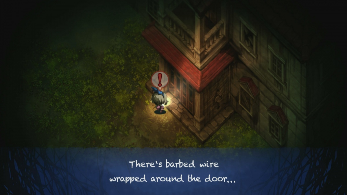 Screenshot for Yomawari: Midnight Shadows on PS Vita