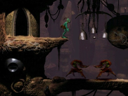 Screenshot for Oddworld: Abe's Oddysee on PlayStation