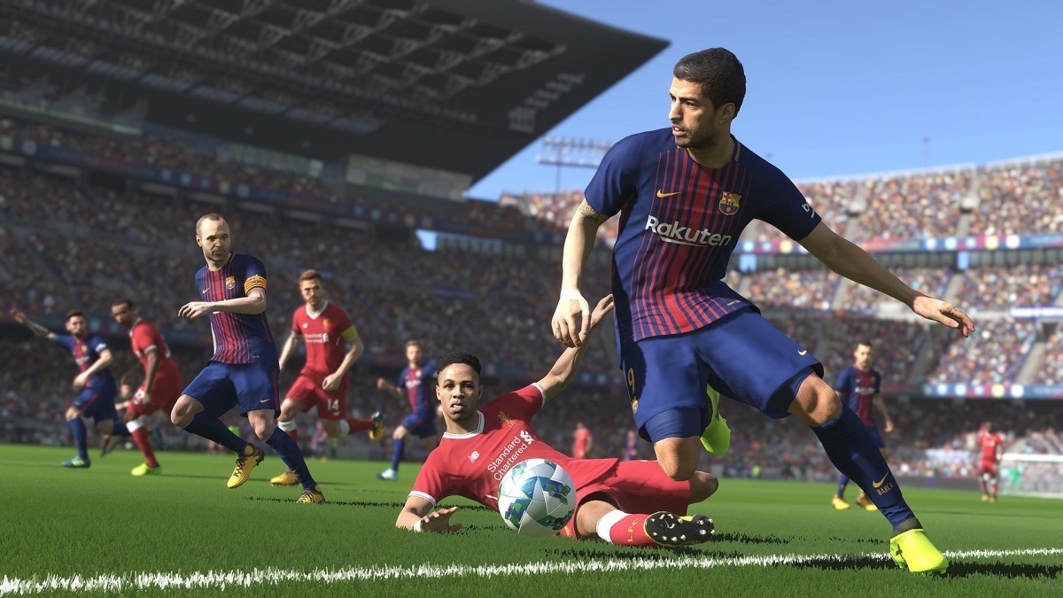 Pro Evolution Soccer 2018 Playstation 4 Review Page 1 Cubed3 Sony Ps4 2017 Pes Screenshot For On