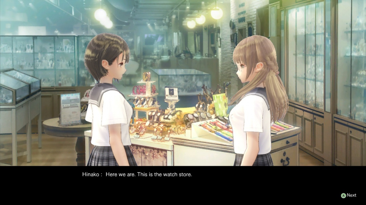 Screenshot for Blue Reflection on PlayStation 4