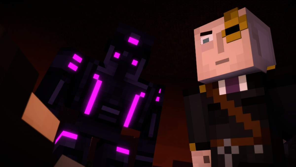 Screenshot for Minecraft: Story Mode Season Two - Episode 3: Jailhouse Block on PC