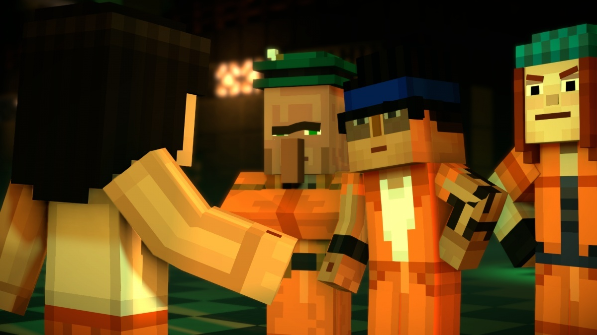 Screenshot for Minecraft: Story Mode Season Two - Episode 3: Jailhouse Block on Xbox One