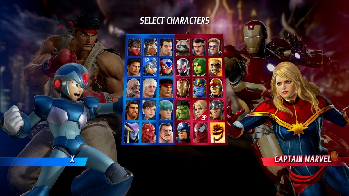 Screenshot for Marvel vs. Capcom: Infinite on PlayStation 4