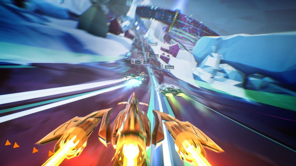 Screenshot for Redout: Lightspeed Edition  on PlayStation 4