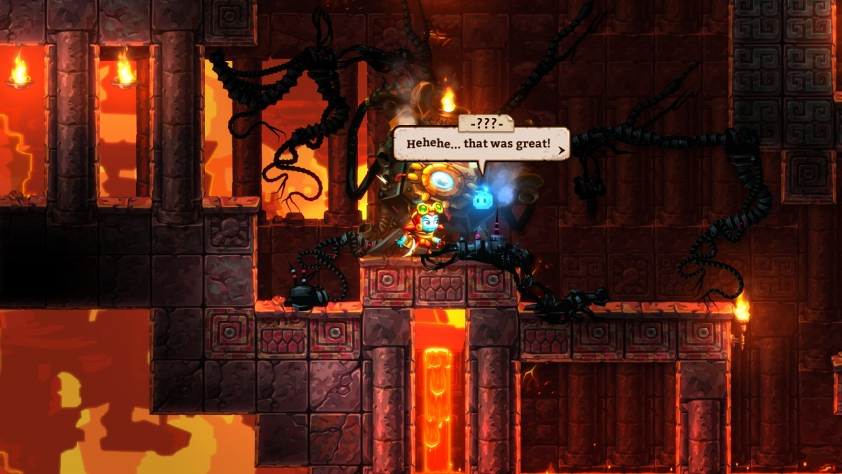 Screenshot for SteamWorld Dig 2 on PC